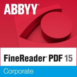 OPROGRAMOWANIE ABBYY FineReader PDF 15 Corporate