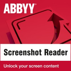 OPROGRAMOWANIE ABBYY Screenshot Reader