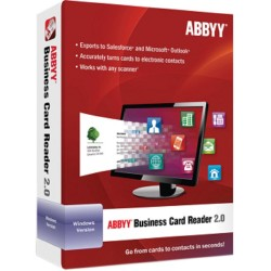 OPROGRAMOWANIE ABBYY Business Card Reader